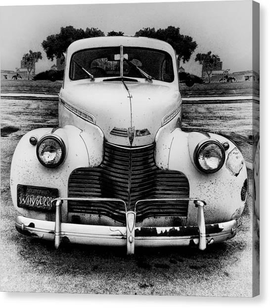 The Car In Texas Canvas Print