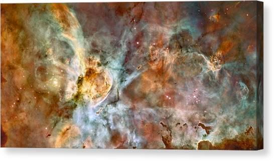 The Carina Nebula Canvas Print
