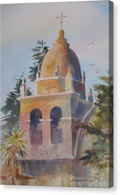 The Carmel Mission Canvas Print