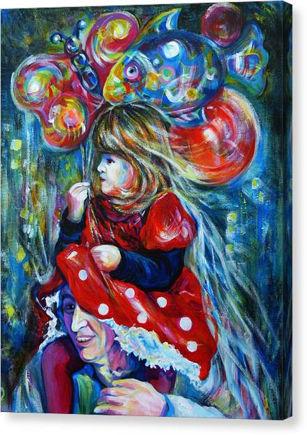 The Carnival Little Princess Canvas Print