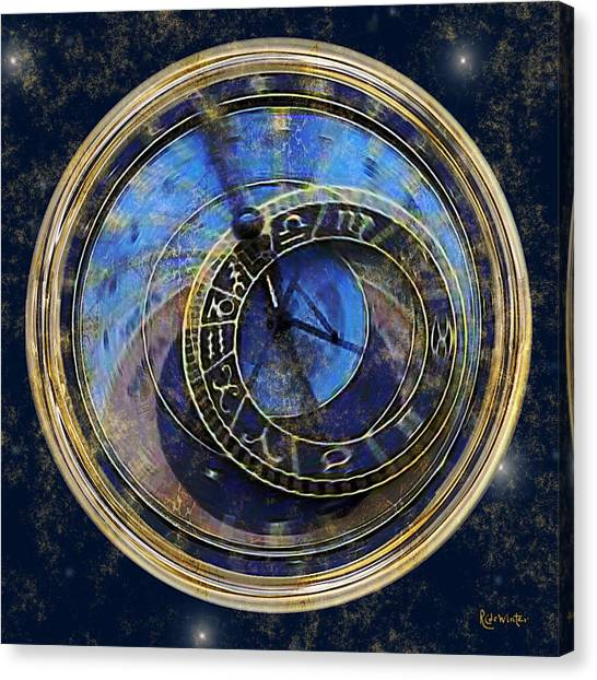The Carousel Of Time Canvas Print
