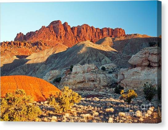 The Castle Capitol Reef National Park Canvas Print