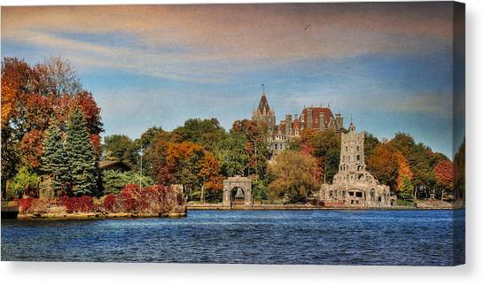 Boldt Castle Canvas Print - The Castle Of Love by Lori Deiter