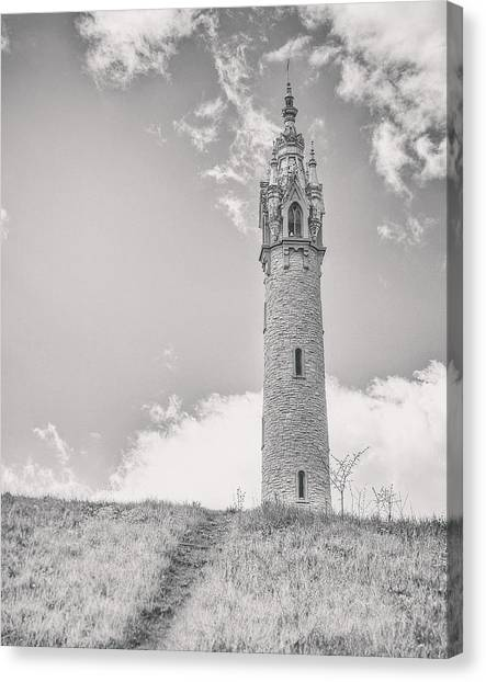 Fairy Canvas Print - The Castle Tower by Scott Norris