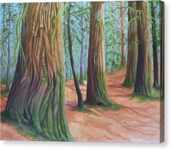 The Cedars Canvas Print