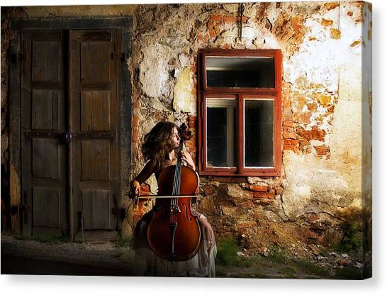 Cellists Canvas Print - The Cellist by Movie Poster Prints