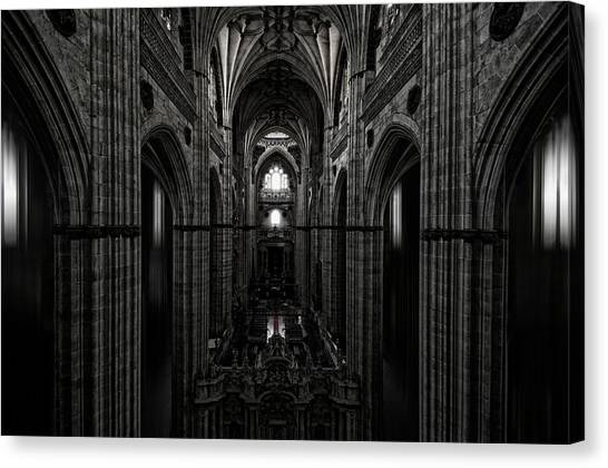 Gothic Art Canvas Print - The Central Ship by Jose C. Lobato