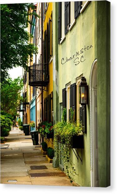 The Charm Of Charleston Canvas Print