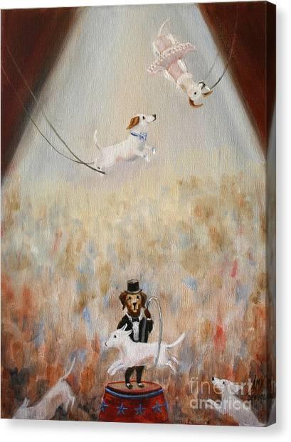 The Circus Canvas Print by Stella Violano