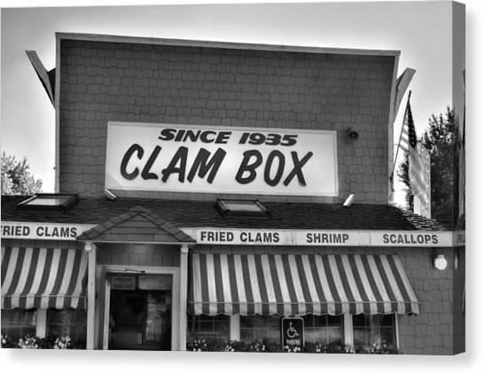 The Clam Box Canvas Print by Joann Vitali