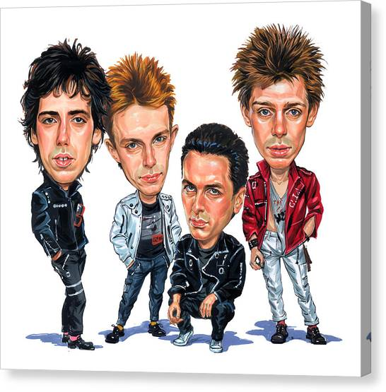 The Clash Canvas Print by Art