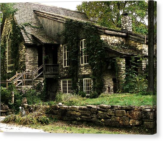 The Clearing Lodge Canvas Print