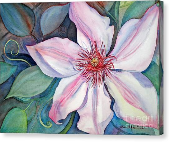 The Clematis Canvas Print