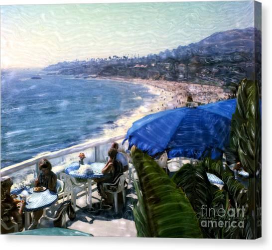The Cliff Laguna Beach Canvas Print