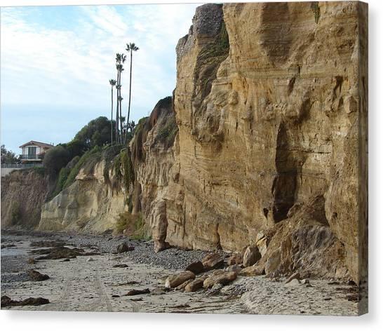 The Cliffs Canvas Print by John Wilson