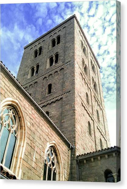 The Metropolitan Museum Of Art Canvas Print - The Cloisters by Jon Woodhams
