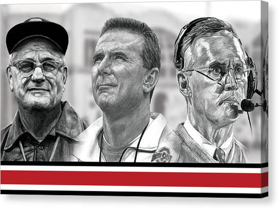 Pencils Canvas Print - The Coaches by Bobby Shaw