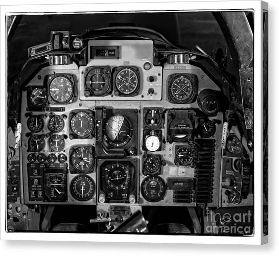 Cockpits Canvas Print - The Cockpit by Edward Fielding