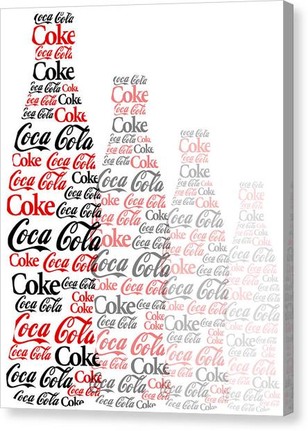 The Coke Project Canvas Print