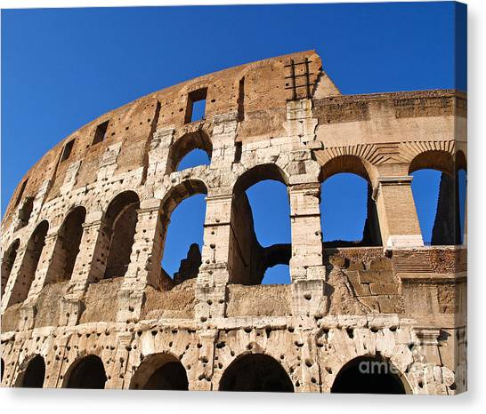 The Colosseum Canvas Print - The Colosseum by Alex Cassels