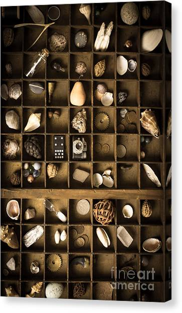 Drawers Canvas Print - The Collection by Edward Fielding