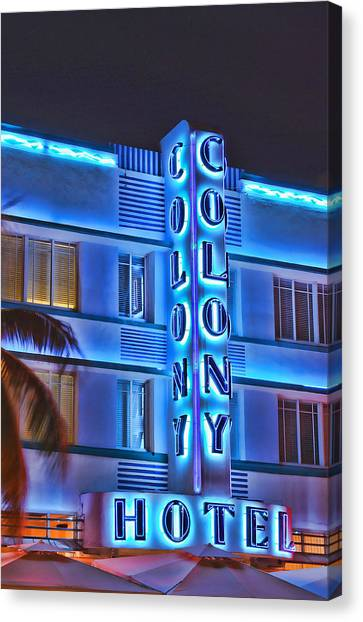 The Colony Canvas Print