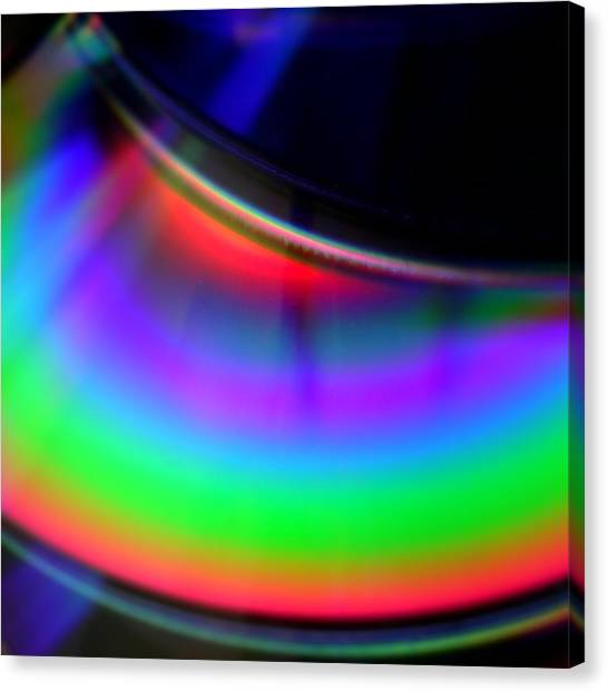The Color Of Music Canvas Print by Jaime Neo