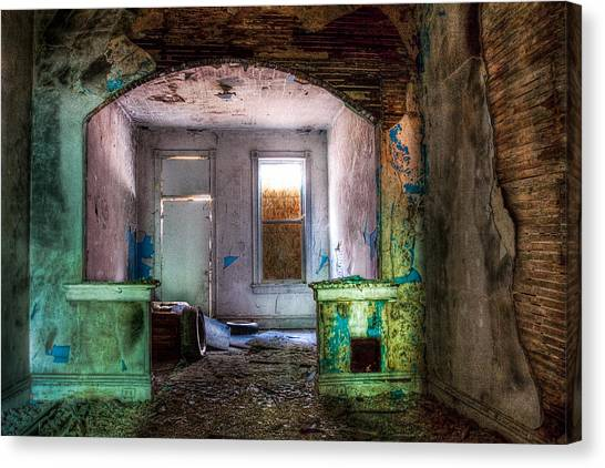 The Colors Of Decay Canvas Print