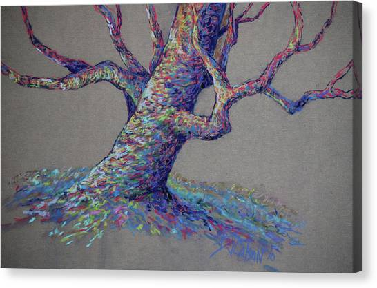 Tree Canvas Print - The Colors Of Life by Billie Colson