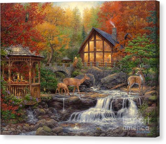 Eastern Canvas Print - The Colors Of Life by Chuck Pinson