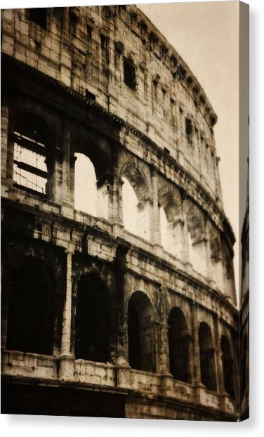 The Colosseum Canvas Print - The Colosseum by Dan Sproul
