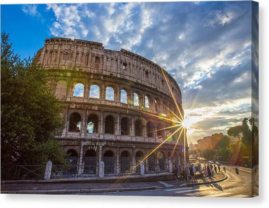 The Colosseum Canvas Print - The Colosseum by Mircea Costina Photography