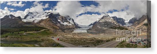 The Columbia Icefield Canvas Print