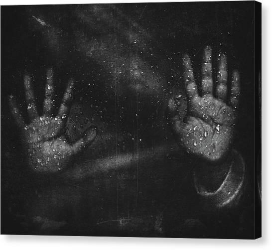 Mood Canvas Print - The Conundrum by Abi Danial
