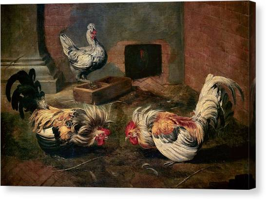 The Prado Canvas Print - The Coop by Frans Snyders
