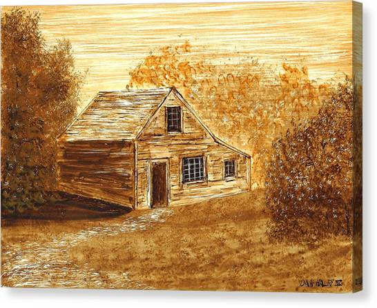 The Cooper's House Canvas Print by Dan Haley