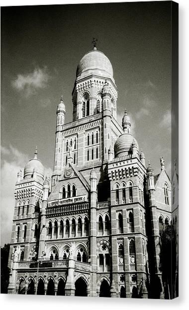 The Corporation Building Bombay Canvas Print