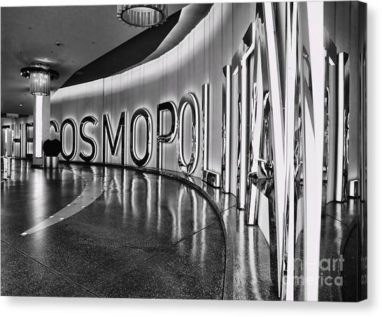 The Cosmopolitan Hotel Las Vegas By Diana Sainz Canvas Print