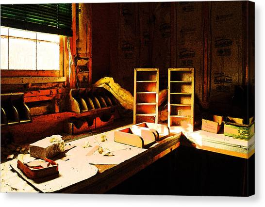 The Counting House Canvas Print
