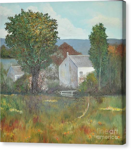 The Country House Canvas Print