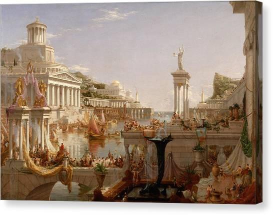 The Course Of Empire Consummation  Canvas Print