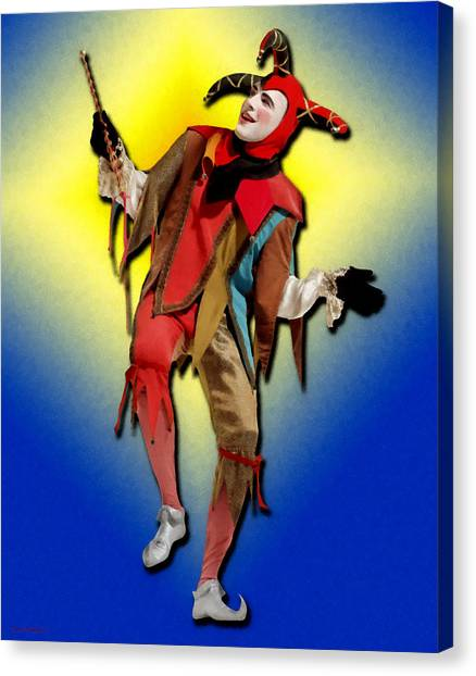The Court Jester Canvas Print