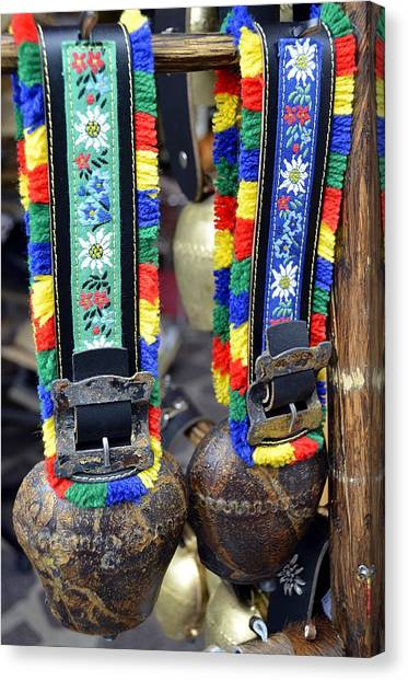 The Cow Bells From Tyrol Canvas Print