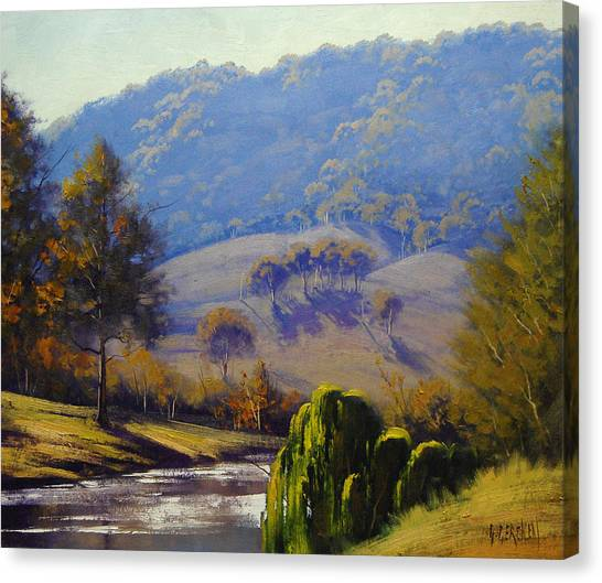 Brook Canvas Print - The Coxs River by Graham Gercken