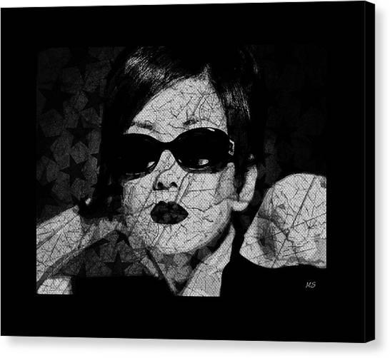 The Cracked Facade Canvas Print