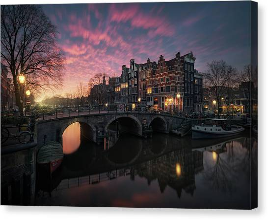 Holland Canvas Print - The Cross by Juan Pablo De