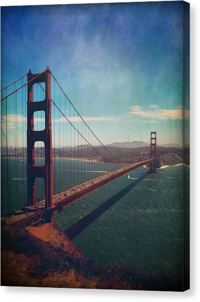Ca Canvas Print - The Crossing by Laurie Search