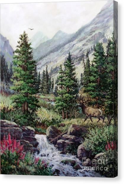 The Crossing Canvas Print by W  Scott Fenton