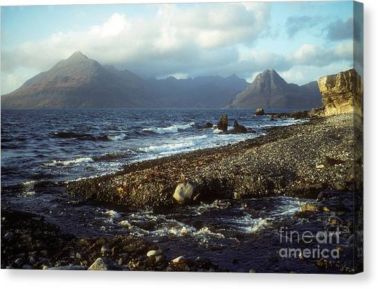 The Cuillins From Elgol - Isle Of Skye Canvas Print