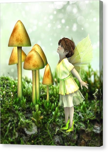 The Curious Fairy Canvas Print